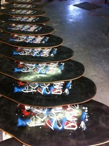 Four Skim Boards